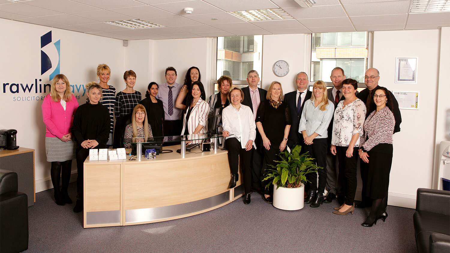 Rawlins Davy Solicitors team